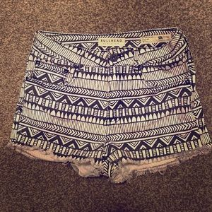 American eagle women's high rise shorts